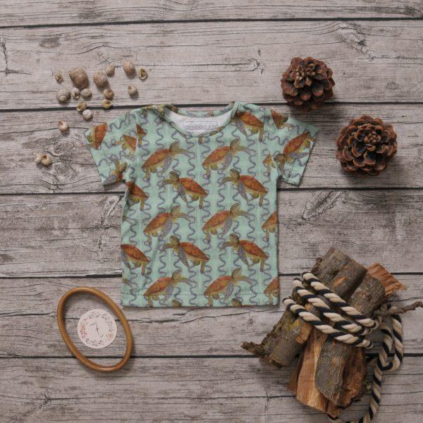 t-shirt schildkröten 92 104
