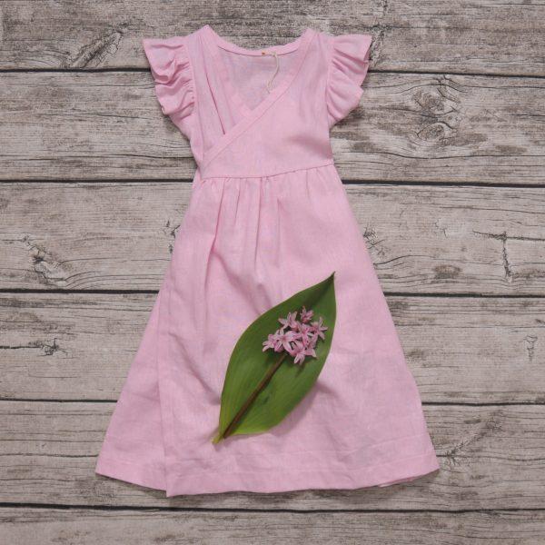 leinenkleid rosa